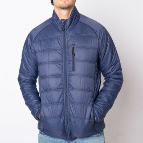 Stylish Blue Down Jacket Manufacturer