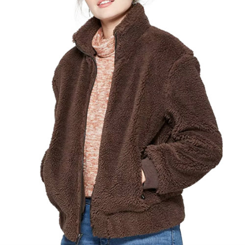 Stylish Brown Lifestyle Jacket