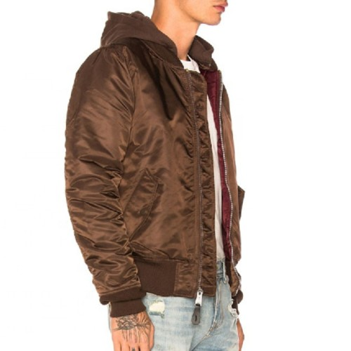 Stylish Brown Quilted Jacket