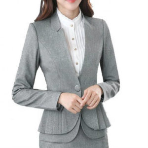 Tailored High-Low Suit Jacket Manufacturer