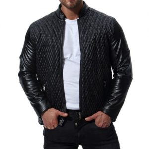 Glorious Black Leather Jacket Wholesale