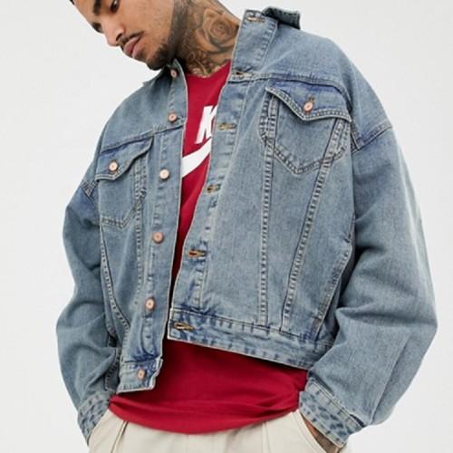 Wholesale Vintage Denim Jacket Manufacturers For Men