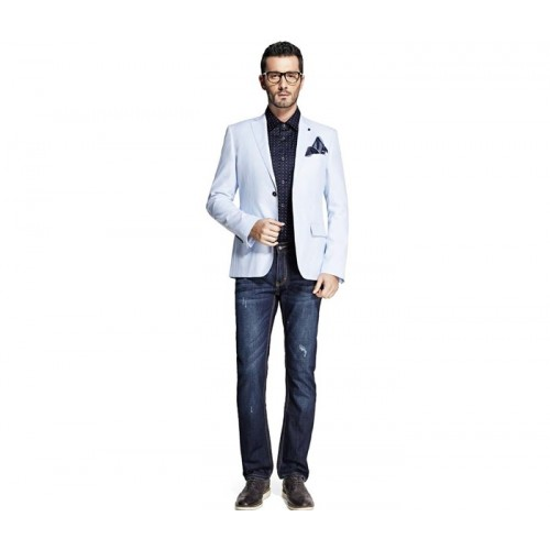 White Designer Mens Suit Jacket