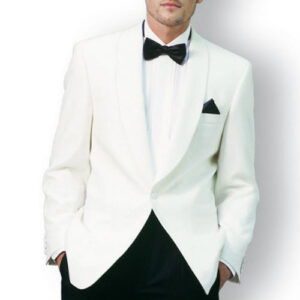 White Designer Mens Suit Jacket Manufacturer