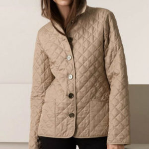 Classy Brown Quilted Jacket Manufacturer