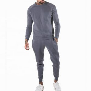 Wholesale Light Grey Tracksuit Bottom
