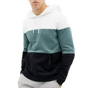 Wholesale Duo Tone Modish Varsity Hoodies