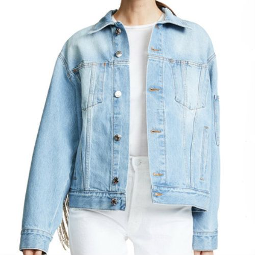 Wholesale Washed Out Denim Jacket