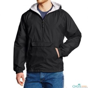 Windbreaker Long Hooded Jacket