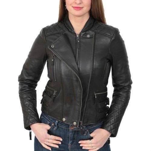 Wholesale Well Designed Black Leather Jacket Manufacturer