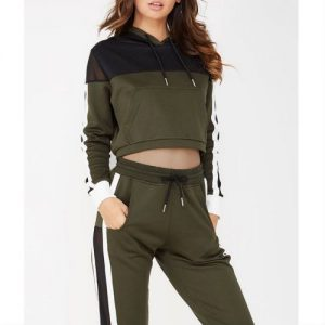 Wholesale Dark And Light Shaded Women Tracksuits