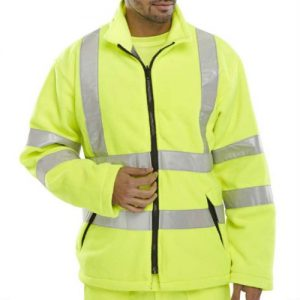 Wholesale Yellow and Grey Safety Jacket