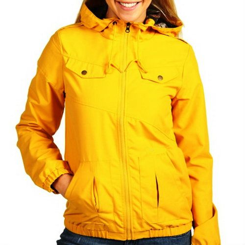 Wind Breaker Yellow Quilted Jacket