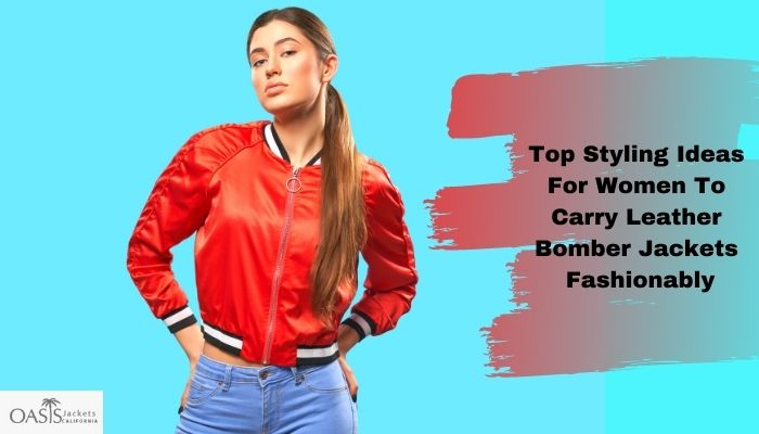 bomber leather jackets manufacturers